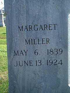 MILLER, MARGARET - Taylor County, Iowa | MARGARET MILLER
