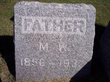 MILLER, M.W. - Taylor County, Iowa   M.W. MILLER