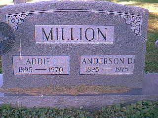 MILLION, ANDERSON & ADDIE - Taylor County, Iowa | ANDERSON & ADDIE MILLION