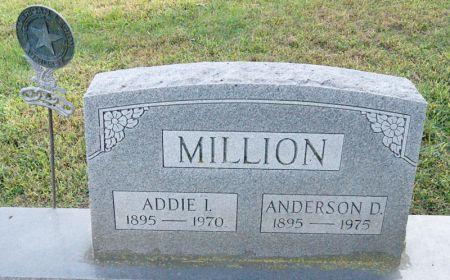 MILLION, ADDIE INEZ - Taylor County, Iowa   ADDIE INEZ MILLION