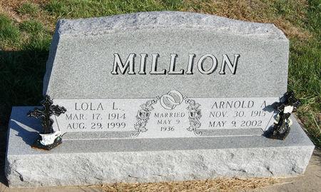 MILLION, LOLA LUCILLE - Taylor County, Iowa | LOLA LUCILLE MILLION