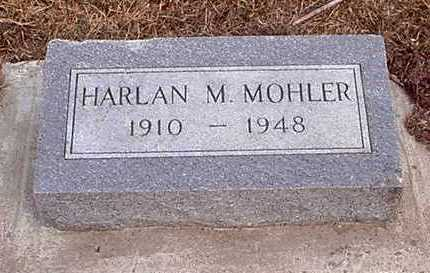 MOHLER, HARLAN M - Taylor County, Iowa | HARLAN M MOHLER