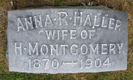 HALLER MONTGOMERY, ANNA RUTH - Taylor County, Iowa | ANNA RUTH HALLER MONTGOMERY