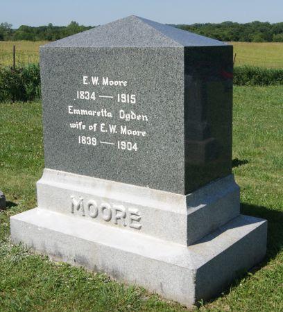 OGDEN MOORE, EMMARETTA - Taylor County, Iowa | EMMARETTA OGDEN MOORE