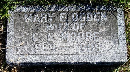 OGDEN MOORE, MARY ETTA - Taylor County, Iowa   MARY ETTA OGDEN MOORE