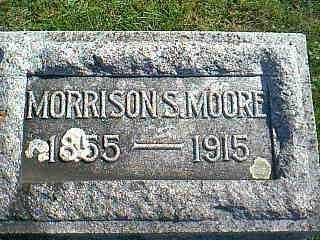 MOORE, MORRISON S. - Taylor County, Iowa | MORRISON S. MOORE