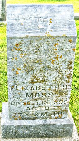HARDING MOSS, ELIZABETH  MARY - Taylor County, Iowa | ELIZABETH  MARY HARDING MOSS