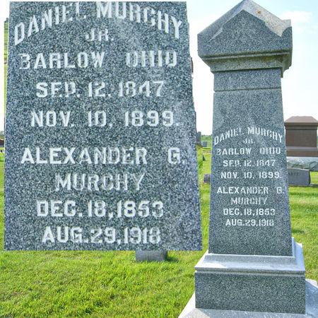 MURCHY, DANIEL, JR. - Taylor County, Iowa   DANIEL, JR. MURCHY