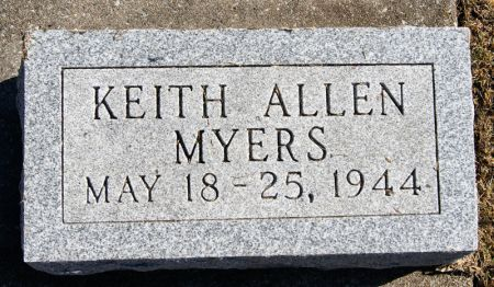 MYERS, KEITH ALLEN - Taylor County, Iowa | KEITH ALLEN MYERS