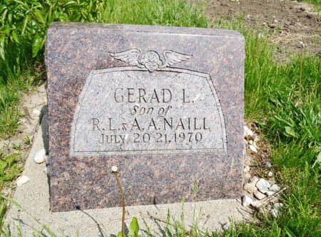 NAILL, GERAD L. - Taylor County, Iowa | GERAD L. NAILL