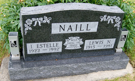 NAILL, IRIS ESTELLE - Taylor County, Iowa | IRIS ESTELLE NAILL