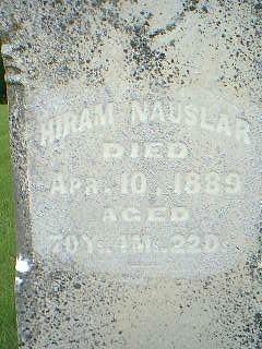 NAUSLAR, HIRAM - Taylor County, Iowa | HIRAM NAUSLAR