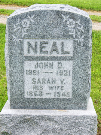 NEAL, JOHN DUNCAN - Taylor County, Iowa   JOHN DUNCAN NEAL