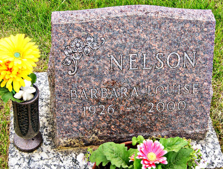 NELSON, BARBARA LOUISE - Taylor County, Iowa   BARBARA LOUISE NELSON