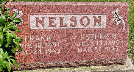 BECHERER NELSON, ESTHER MYRTLE - Taylor County, Iowa | ESTHER MYRTLE BECHERER NELSON