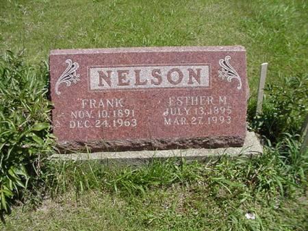 NELSON, FRANK - Taylor County, Iowa | FRANK NELSON