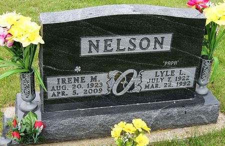 MILLER NELSON, IRENE MAE - Taylor County, Iowa   IRENE MAE MILLER NELSON