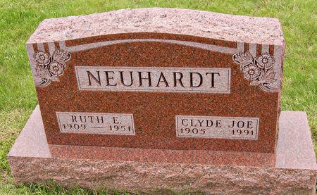 HAYES NEUHARDT, RUTH DEMARIUS - Taylor County, Iowa   RUTH DEMARIUS HAYES NEUHARDT