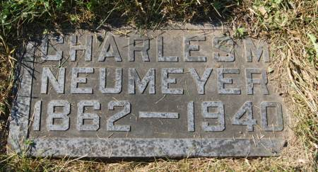 NEUMEYER, CHARLES M. - Taylor County, Iowa | CHARLES M. NEUMEYER
