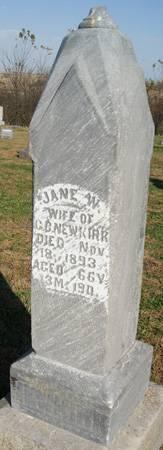 NEWKIRK, JANE - Taylor County, Iowa   JANE NEWKIRK