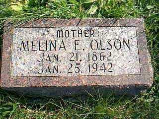 OLSON, MELINA E. - Taylor County, Iowa | MELINA E. OLSON