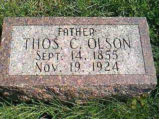 OLSON, THOS C. - Taylor County, Iowa | THOS C. OLSON