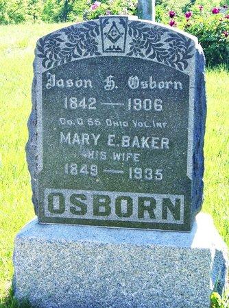 BAKER OSBORN, MARY EMILY - Taylor County, Iowa   MARY EMILY BAKER OSBORN