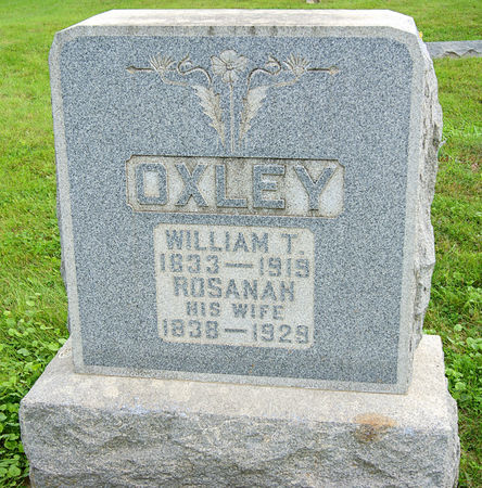 LASSWELL OXLEY, ROSANAH - Taylor County, Iowa   ROSANAH LASSWELL OXLEY