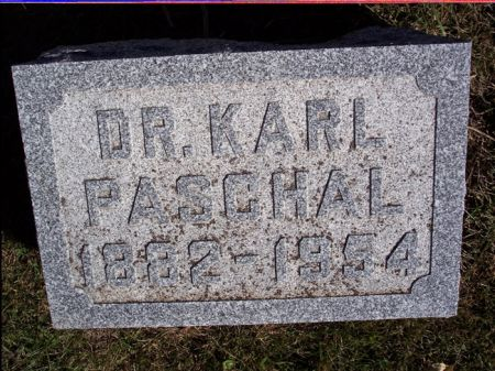 PASCHAL, KARL - Taylor County, Iowa | KARL PASCHAL
