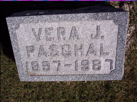 PASCHAL, VERA J. - Taylor County, Iowa | VERA J. PASCHAL