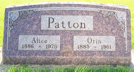COPE PATTON, POLLY ALICE - Taylor County, Iowa | POLLY ALICE COPE PATTON