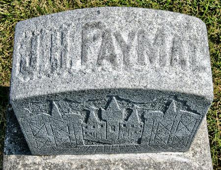 PAYMAL, JOHN H. - Taylor County, Iowa | JOHN H. PAYMAL