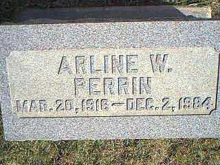 PERRIN, ARLINE W. - Taylor County, Iowa | ARLINE W. PERRIN