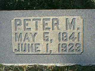 PETERSON, PETER M. - Taylor County, Iowa | PETER M. PETERSON
