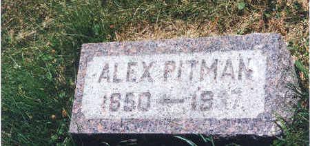 PITMAN, ALEX - Taylor County, Iowa | ALEX PITMAN