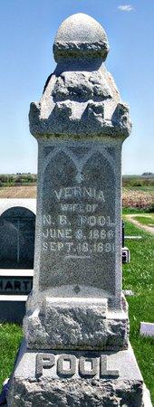 POOL, AMANDA VERNA (VERNIA) - Taylor County, Iowa | AMANDA VERNA (VERNIA) POOL