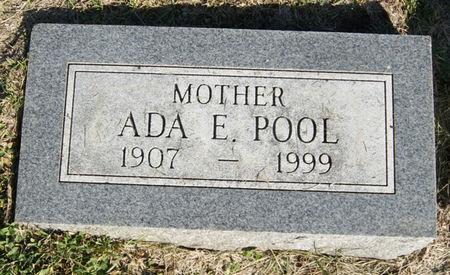 POOL, ADA ELIZABETH - Taylor County, Iowa | ADA ELIZABETH POOL