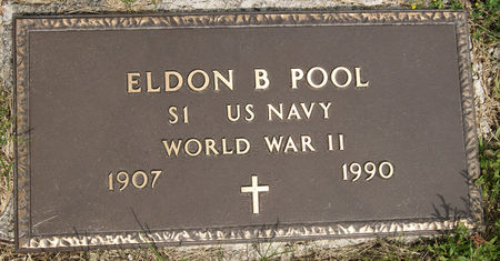POOL, ELDON BLISS - Taylor County, Iowa   ELDON BLISS POOL