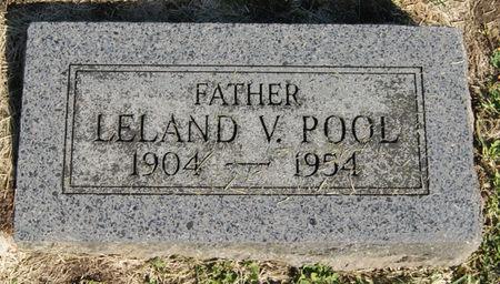 POOL, LELAND V. - Taylor County, Iowa | LELAND V. POOL