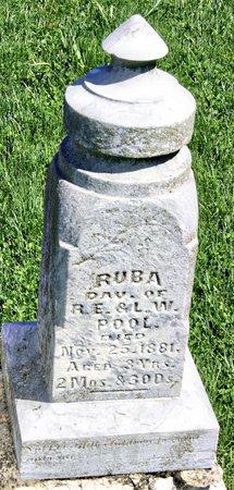POOL, RUBA - Taylor County, Iowa   RUBA POOL