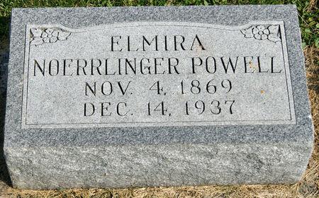 NOERRLINGER POWELL, ELMIRA JANE - Taylor County, Iowa   ELMIRA JANE NOERRLINGER POWELL