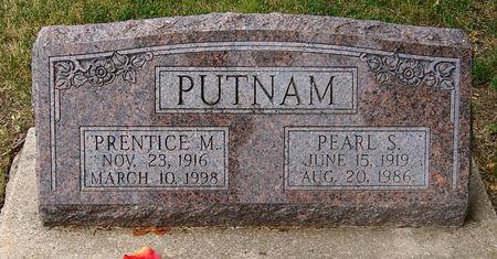 PUTNAM, PEARL SYLVIA - Taylor County, Iowa   PEARL SYLVIA PUTNAM