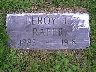 RAPER, LEROY J. - Taylor County, Iowa | LEROY J. RAPER