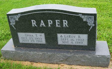 OLDER RAPER, OPHA THEOLA - Taylor County, Iowa | OPHA THEOLA OLDER RAPER
