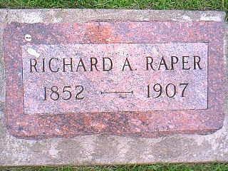 RAPER, RICHARD A. - Taylor County, Iowa | RICHARD A. RAPER