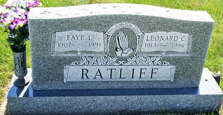 RATLIFF, LEONARD CLYDE - Taylor County, Iowa | LEONARD CLYDE RATLIFF