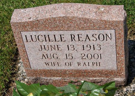 REASON, LUCILLE - Taylor County, Iowa   LUCILLE REASON