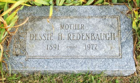 REDENBAUGH, DESSIE HARRIETT - Taylor County, Iowa | DESSIE HARRIETT REDENBAUGH