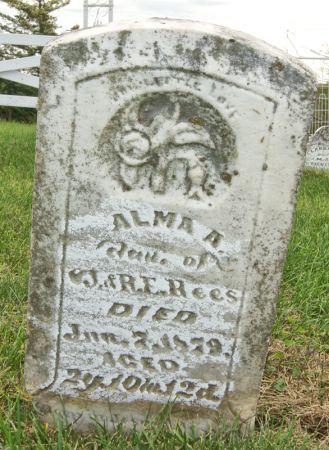 REES, ALMA A. - Taylor County, Iowa | ALMA A. REES