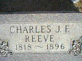REEVE, CHARLES J.F. - Taylor County, Iowa | CHARLES J.F. REEVE